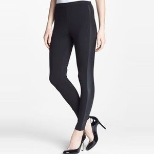 Two By Vince Camuto Black skinny Faux leather